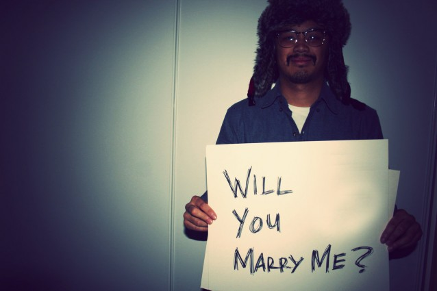 Mr Grizzly Anderson proposes