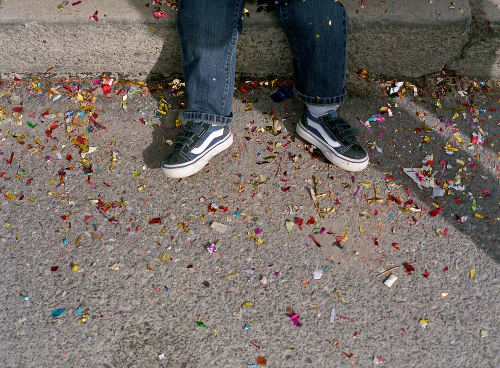 Eliot and Confetti 2009